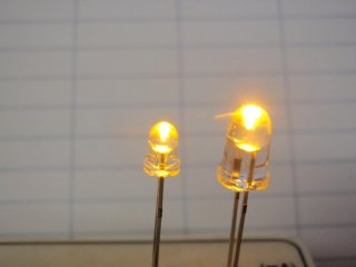 5mm LED単体・黄色 日本製