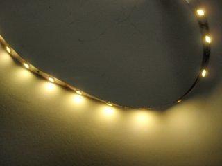 2835 LED TAPE 非防水 60LED/m 電球色