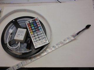 IP67 RGB 600LED/5m 2列 コントローラー付き