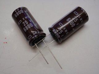 KMG25VB6800M(25VDC6800μ)18x35mm