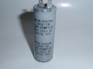 125VAC100μ 25 x 70mm