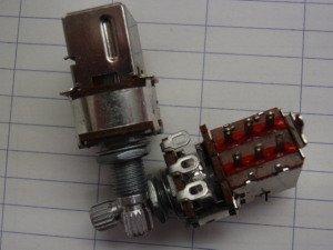 大特価・スイッチ付きボリューム A500KΩ