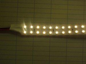 24V LED テープライト 電球色