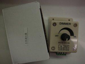 調光器 12VDC/24VDC 共用