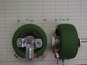 ホーローボリューム RGY50A20R 1KΩ
