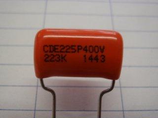 オレンジドロップ 400V0.022μ