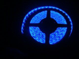 防水IP65  5050 LED テープ 青色 300/5m 12VDC