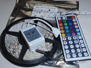 非防水 5050 RGB 300/5m コントローラー付 12VDC