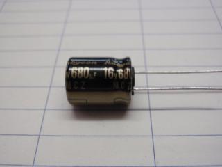 16V680μ  10X13mm