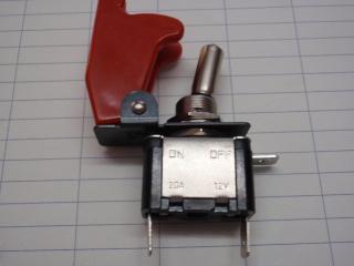 ミサイルスイッチー赤色LED