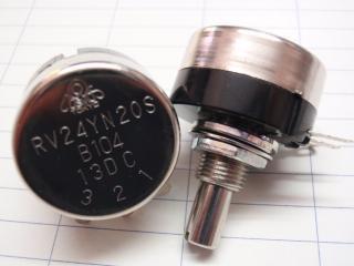 RV24YN20SA105 Aカーブ 1MΩ