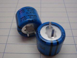 電気二重層コンデンサ 5.5V0.47F