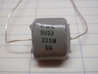 オイルコンデンサー630V0.022μ