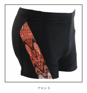 即日発送新品お洒落メンズ水着☆かっこいい四角形水泳パンツ☆旅行用☆裏地付き