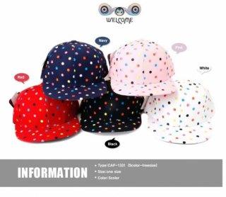 新作品 可愛い おしゃれ リゾート帽子 ドット柄 レディース帽子 紫外線対策 uvカット HAT