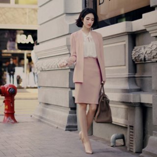OL 女性にピッタリ職業ファッションスカート ハイウエストでもっと高くもっと痩せて見えます。