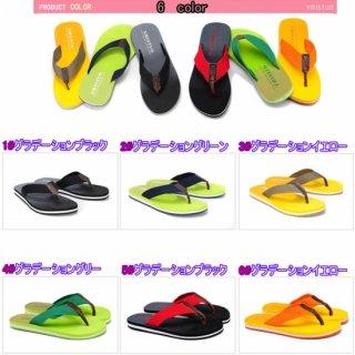 特価 ラバーサンダル 6色 フラットソール ファッションビーチサンダル 低ソール ゴム ラバー