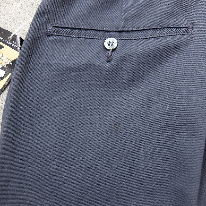 ERWIN Cotton-Plus FABRIC Slacks (Dead Stock)