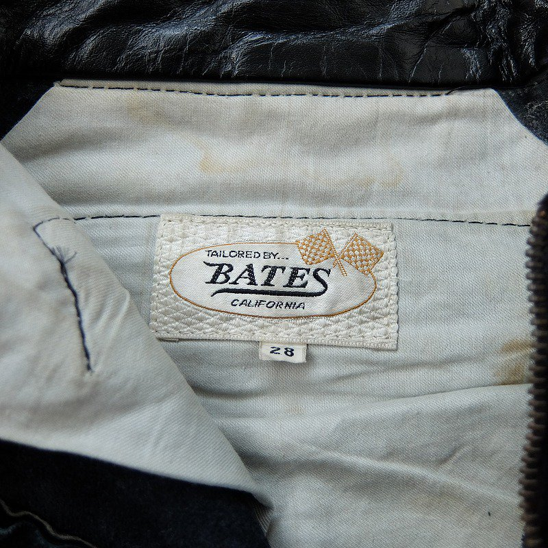 1960's〜1970's BATES Leather Pants