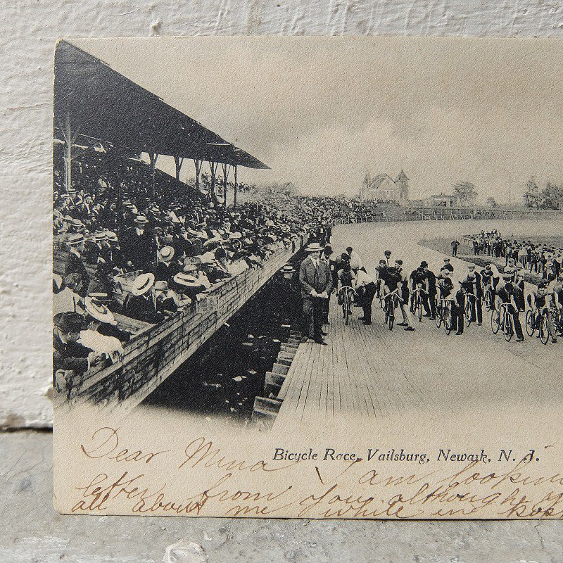 1900's Vailsburg Bicycle Race Post Card