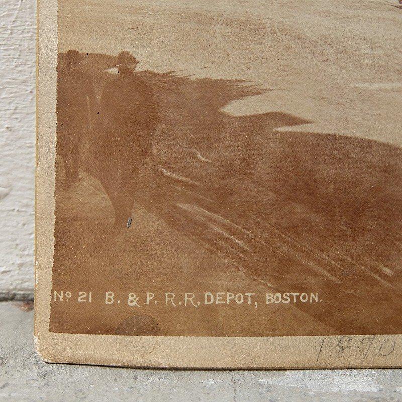 BOSTON & PROVIDENCE Railroad Station Photo