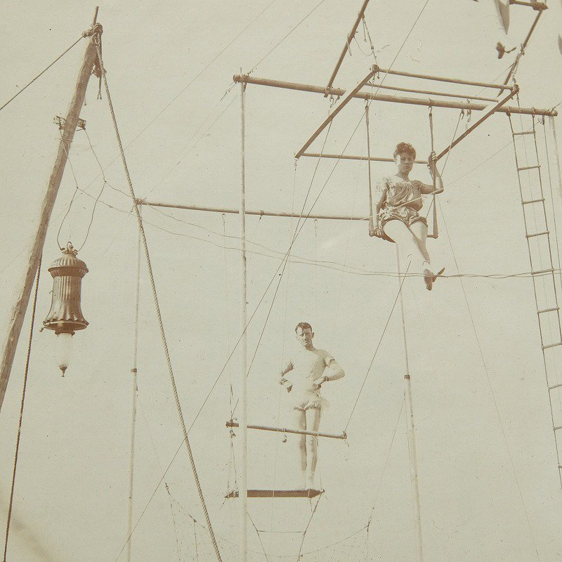 Antique Circus Photograph