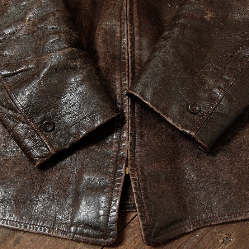 1940's CALIFORNIA Leather Sports Jacket