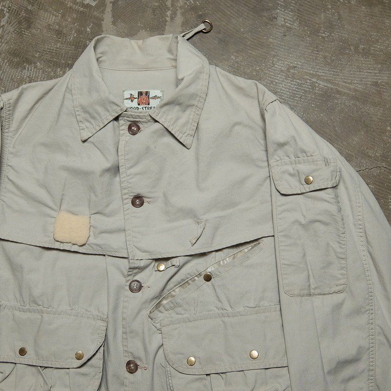 1950's WOOD-STREAM Fishing Jacket