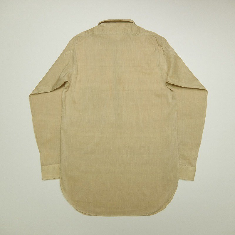 1910's HONESTY Pullover Silk Shirt
