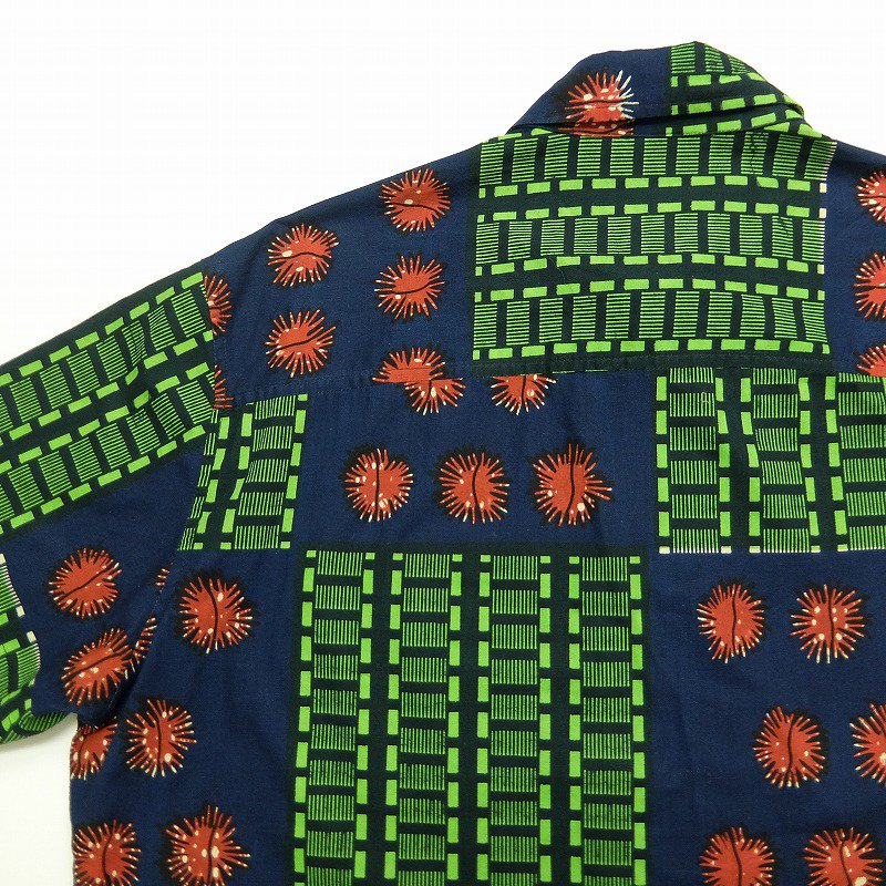 ISLAND TRADING African Print Shirt