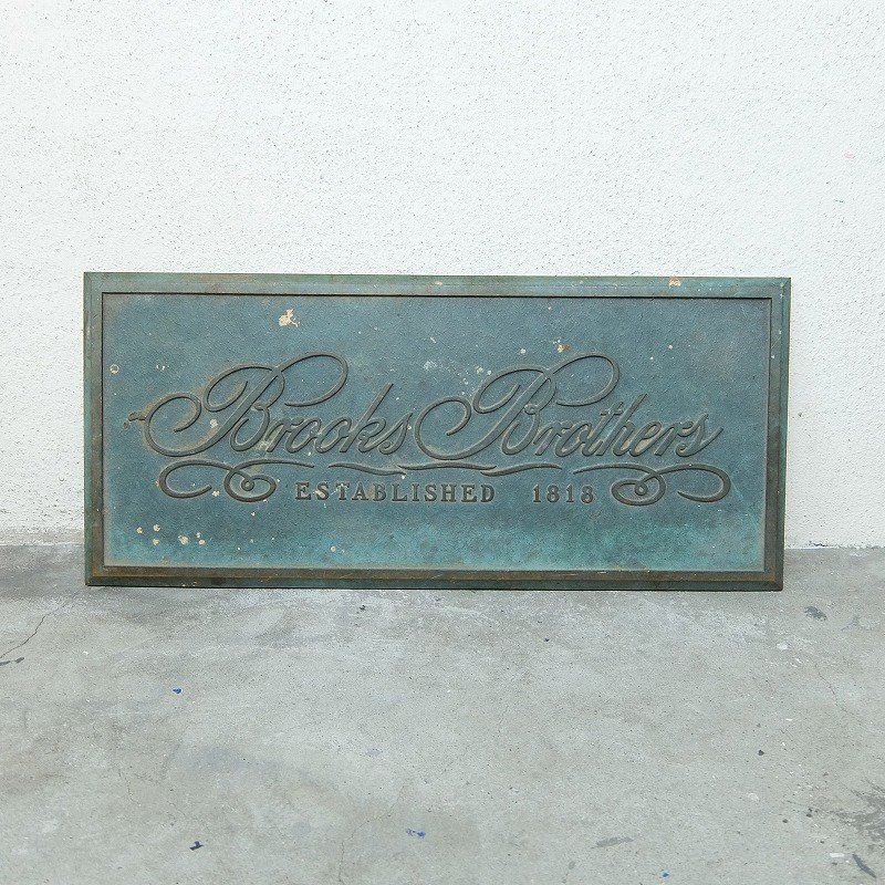 Brooks Brothers Sign of the Shop Entrance