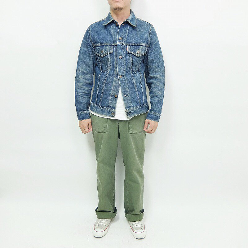 LEVI STRAUSS & CO 75505 DENIM JACKET