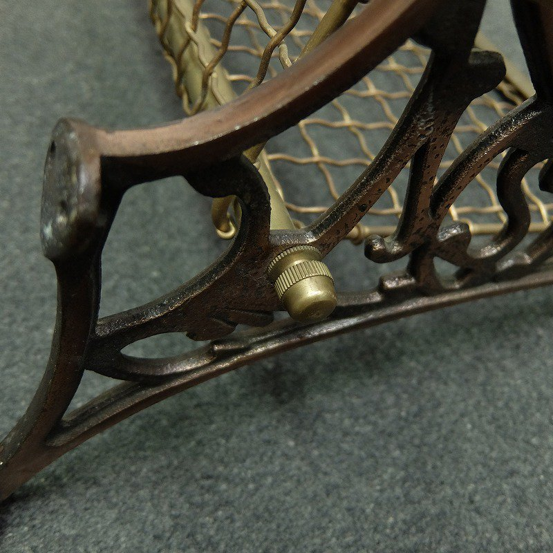 ANTIQUE TRAIN LUGGAGE RACK