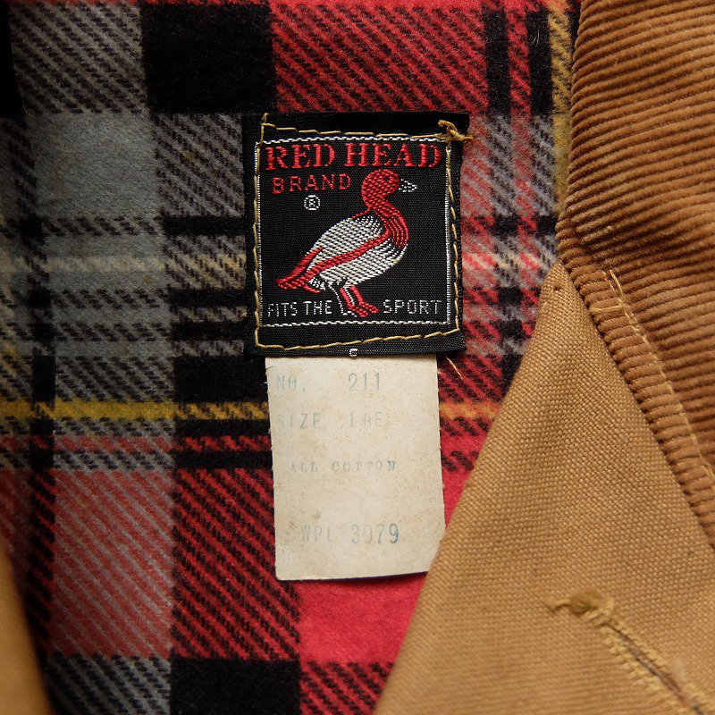 RED HEAD Hunting Jacket (DEAD STOCK)