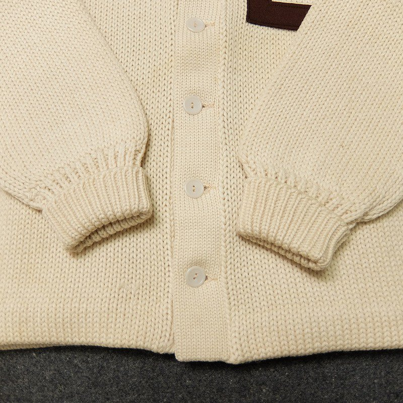 Brown University Lettered Cardigan