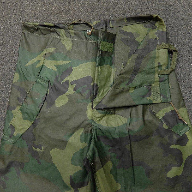 U.S.ARMY Woodland Camo Rain Parka