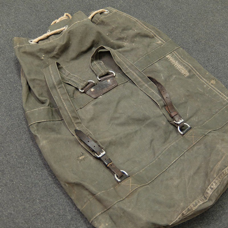 German Military Duffle Back Pack