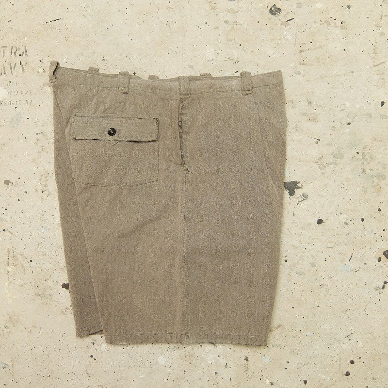 French Work Shorts