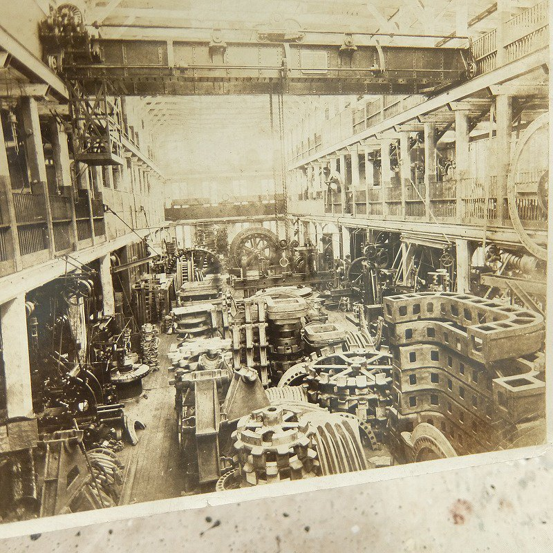 Antique Factory Photo