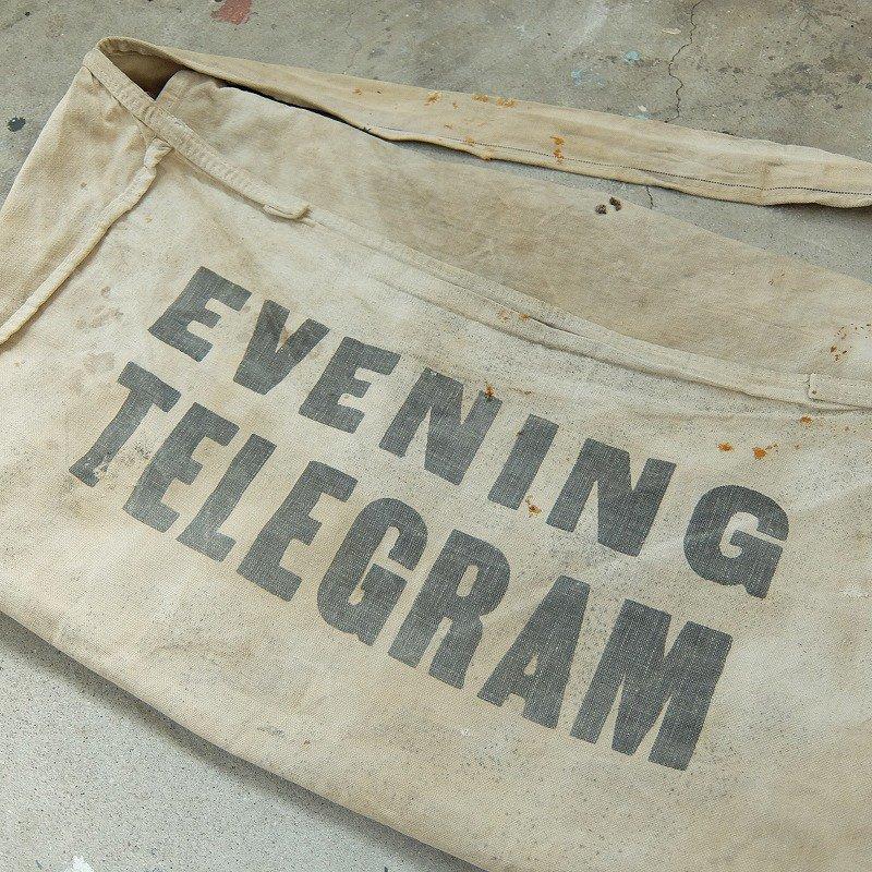 EVENING TELEGRAM Newspaper Bag