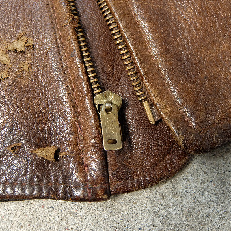 California MFG. CO. Leather Sports Jacket