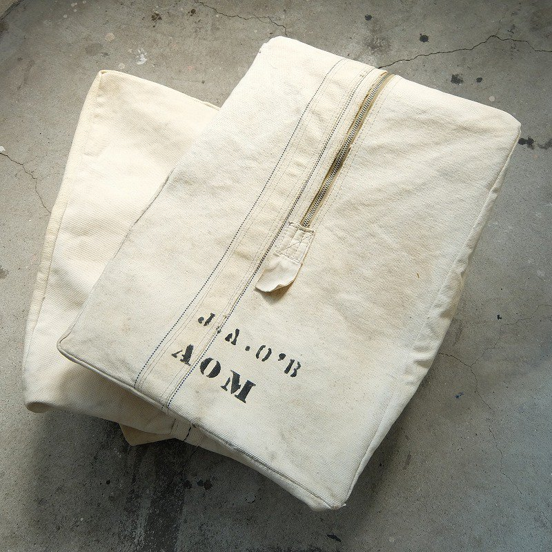 Canvas Bag with Stencil