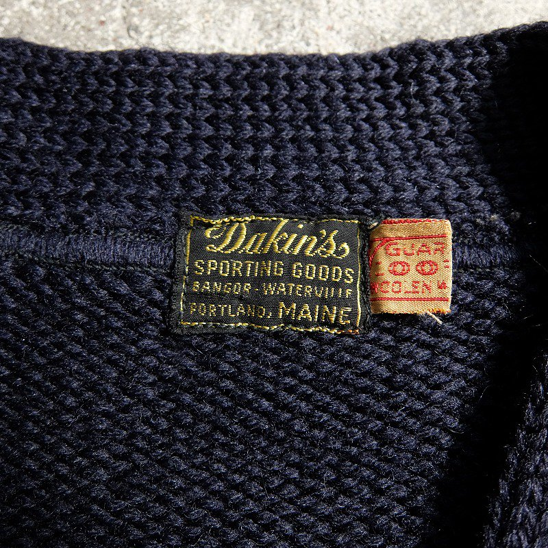 Dakin's SPORTING GOODS Lettered Cardigan