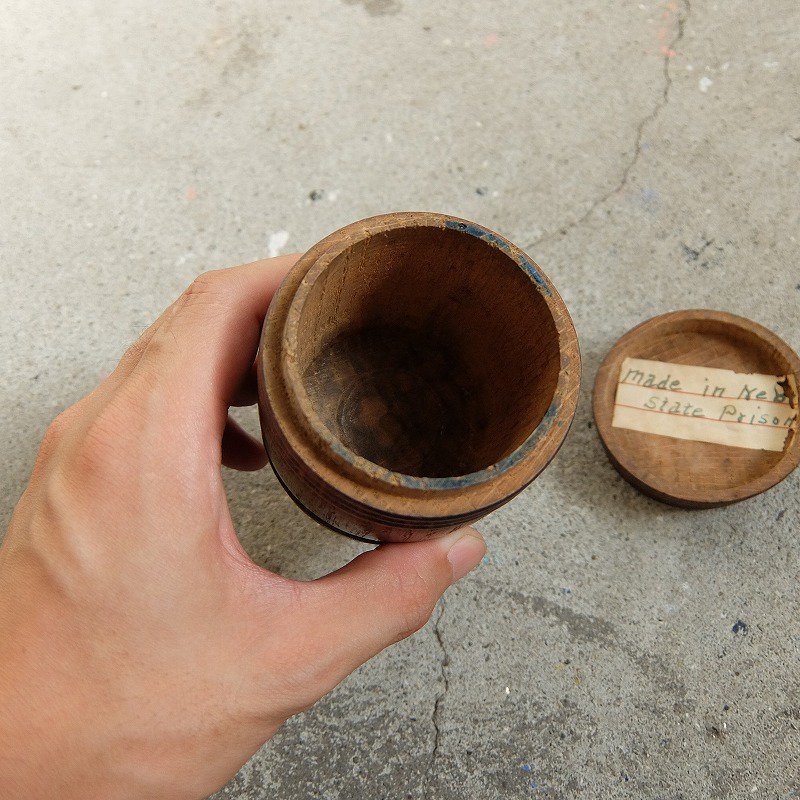 Miniature Wooden Barrel