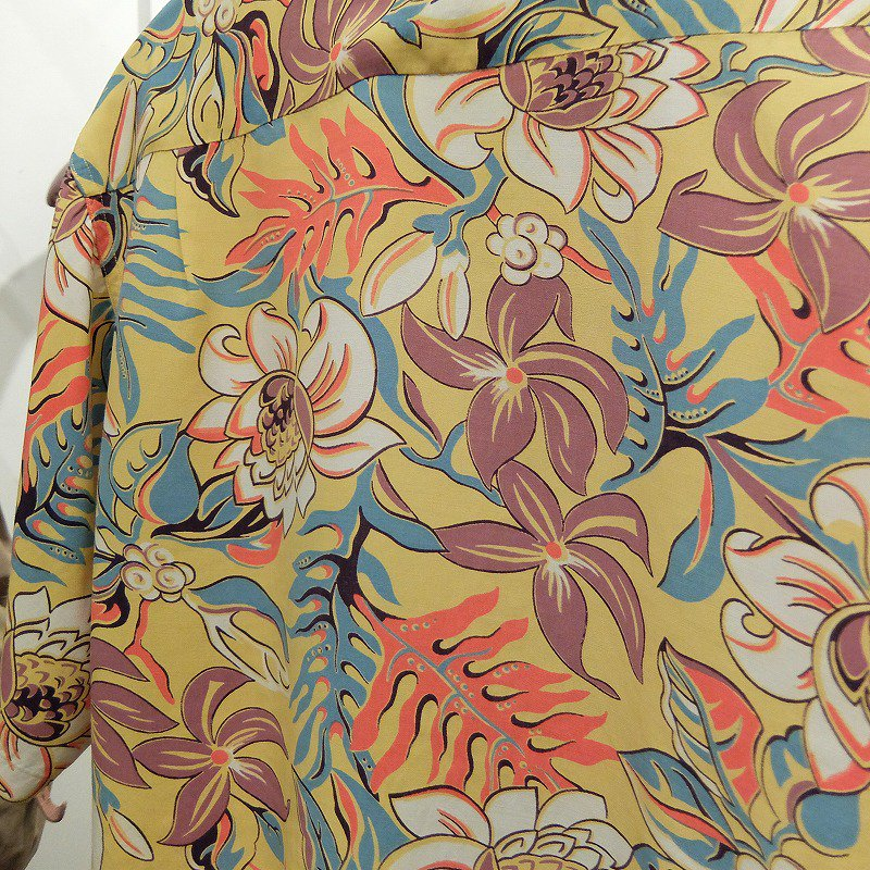Vintage Botanical Pattern Hawaiian Shirt