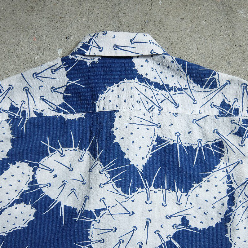 B.V.D. Seersucker Hawaiian Shirt