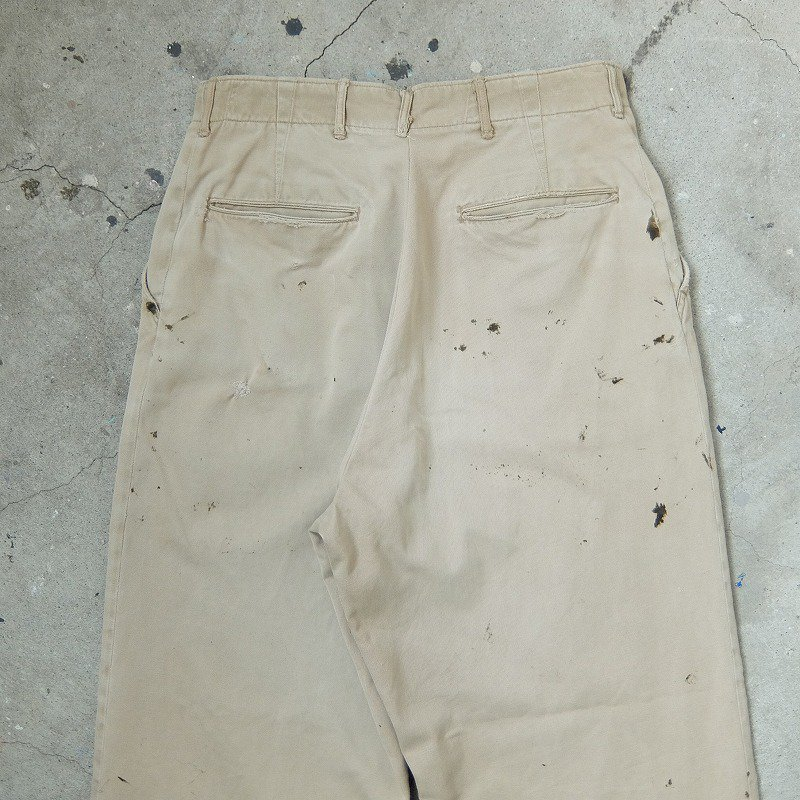 WW2 U.S.ARMY Cotton Khaki Trousers
