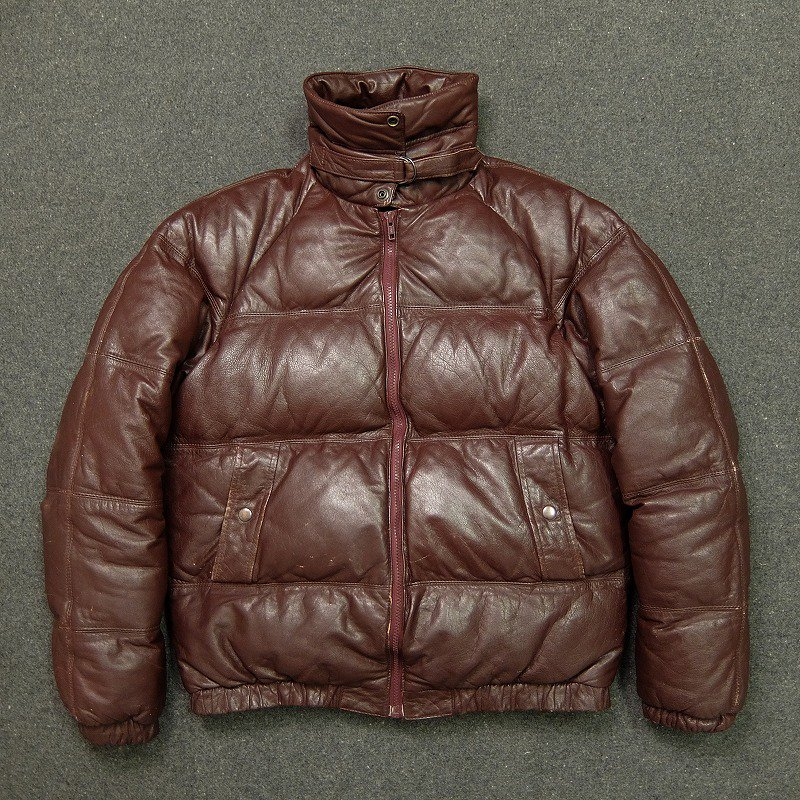 SKITIQUE Leather Down Jacket