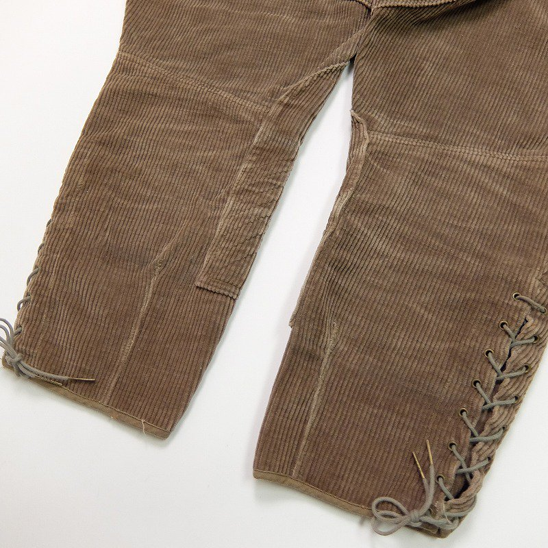Corduroy Breeches Pants