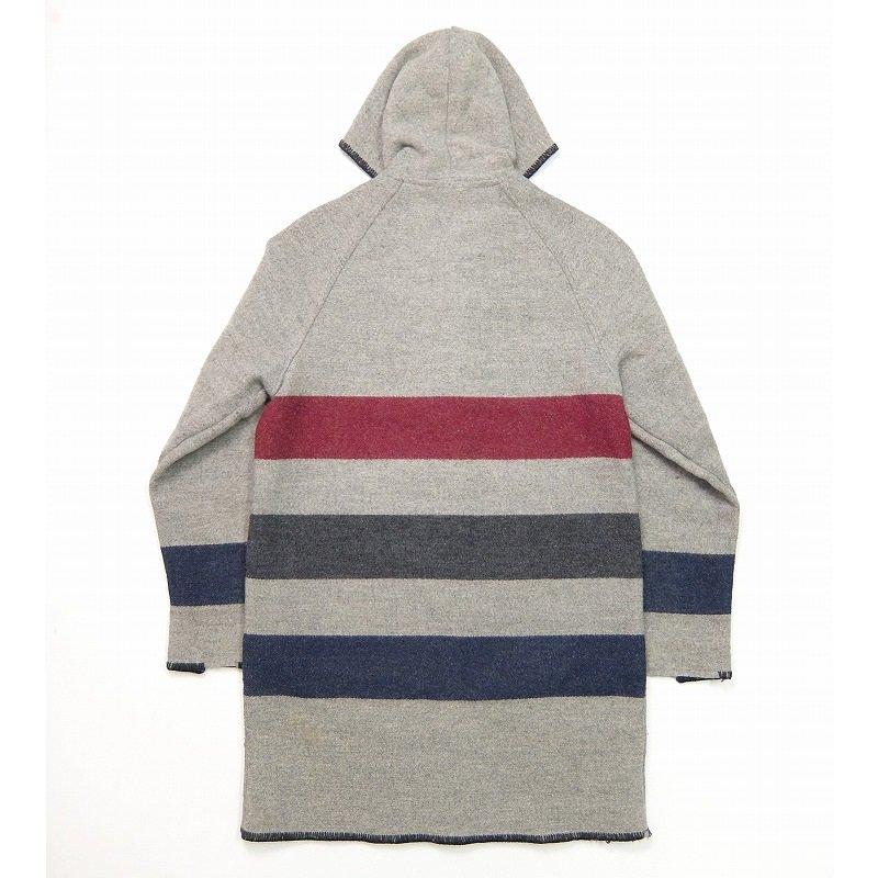 Woolrich Zip-Up Wool Coat